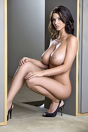 Alice Goodwin in Doorway - Hi Res