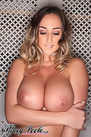 Stacey Poole lip bite