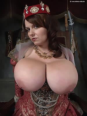 The Queen of Big Boobs...Literally