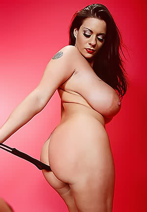Linsey Dawn Mckenzie gets rid of her undies