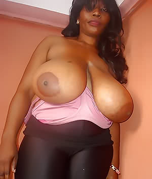 Huge ebony milf
