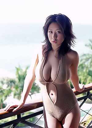 Quite busty