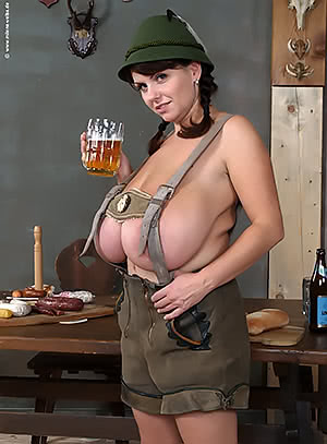 Milena Velba is Ready for Oktoberfest