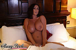 In bed with Stacey Poole