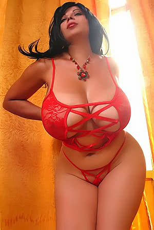 Marita Mendez in Red