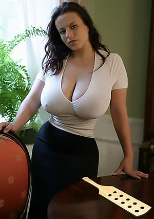 Ready for spanking